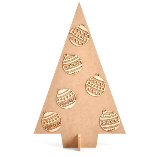 Kaisercraft - Beyond the Page Collection - Christmas - Tree Card Holder