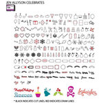 Craftwell - eCraft - 12 Inch Electronic Cutting System - Image Card - Jen Allyson Celebrates