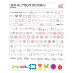 Craftwell - eCraft - 12 Inch Electronic Cutting System - Image Card - Jen Allyson Designs