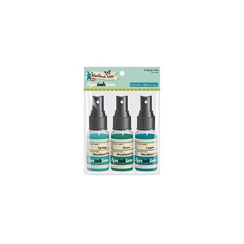 October Afternoon - Woodland Collection - Spray Inks - Sprinklers Set