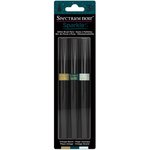 Crafter's Companion - Spectrum Noir - Glitter Brush Pens - Vintage Beach - 3 Pack