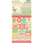 October Afternoon - Cakewalk Collection - Cardstock Stickers - Words