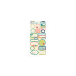 October Afternoon - Woodland Collection - Cardstock Stickers - Labels