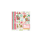 October Afternoon - Make it Merry Collection - Christmas - 12 x 12 Cardstock Stickers - Shapes