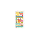 October Afternoon - Farm Girl Collection - Cardstock Stickers - Words