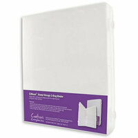 Crafter's Companion - EZ Mount Stamp Storage Binder - 3-Ring - Clear