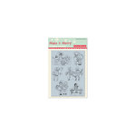 October Afternoon - Make it Merry Collection - Christmas - Cling Mounted Rubber Stamps - Wintertime