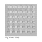 My Favorite Things - MIX-ables Stencil - Weave