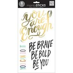 Me and My Big Ideas - MAMBI Sticks - Large Word Clear Stickers - Be You