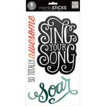 Me and My Big Ideas - MAMBI Sticks - Clear Stickers - Sing Your Song