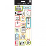 Me and My Big Ideas - MAMBI Sticks - Cardstock Stickers - Washi Shape Sayings