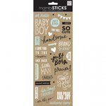 Me and My Big Ideas - MAMBI Sticks - Clear Stickers - Sweet Baby Boy Sayings