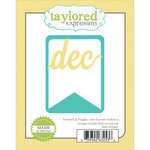 Taylored Expressions - Die - Pockets and Pages 3 x 4 Banner