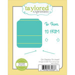 Taylored Expressions - Die - On Display Tin Insert