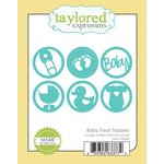 Taylored Expressions - Die - Baby Treat Toppers