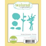 Taylored Expressions - Die - Simply Stamped Zinnias