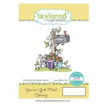 Taylored Expressions - Cling Stamp - You've Got Mail - Spring