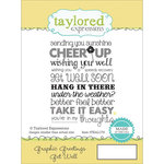 Taylored Expressions - Cling Stamp - Graphic Greetings - Get Well