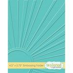 Taylored Expressions - Embossing Folder - Walking on Sunshine