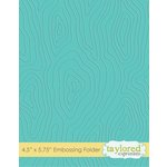 Taylored Expressions - Embossing Folder - Woodgrain