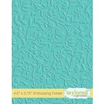 Taylored Expressions - Embossing Folder - Floral Vine