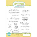 Taylored Expressions - Cling Stamp - In and Out - Birthday