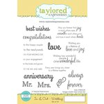 Taylored Expressions - Cling Stamp - In and Out - Wedding