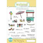 Taylored Expressions - Cling Stamp - Sip, Sip Hooray