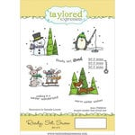 Taylored Expressions - Cling Stamp - Ready, Set, Snow