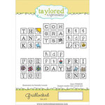 Taylored Expressions - Cling Stamp - Gridlocked