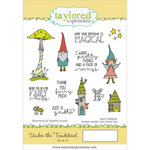 Taylored Expressions - Cling Stamp - Under The Toadstool