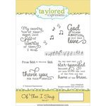 Taylored Expressions - Cling Stamp - Of Thee I Sing