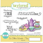 Taylored Expressions - Cling Stamp - In Other Words - Tea