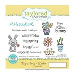 Taylored Expressions - Cling Stamp - Tag-Along - Easter