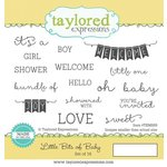 Taylored Expressions - Cling Stamp - Little Bits Of Baby