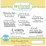 Taylored Expressions - Cling Stamp - My Favorite Dad