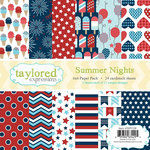 Taylored Expressions - 6 x 6 Paper Pad - Summer Nights