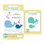 Taylored Expressions - Cling Stamp and Die Set - Showered with Love