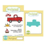 Taylored Expressions - Cling Stamp and Die Set - Big Delivery