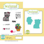 Taylored Expressions - Cling Stamp and Die Set - Graysie