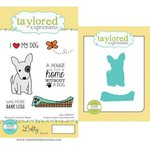 Taylored Expressions - Cling Stamp and Die Set - Lefty