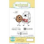 Taylored Expressions - Cling Stamp - Perfect Pairs - Milk and Cookies