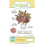 Taylored Expressions - Cling Stamp - Mixed Blooms