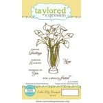 Taylored Expressions - Cling Stamp - Calla Lily Bouquet