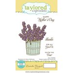 Taylored Expressions - Cling Stamp - Lavender Bouquet