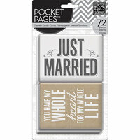 Me and My Big Ideas - Pocket Pages - Themed Cards - 3 x 4 - Wedding