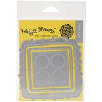 Waffle Flower Crafts - Craft Die - Doily Square