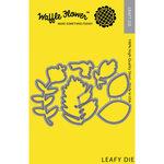 Waffle Flower Crafts - Craft Die - Leafy