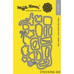 Waffle Flower Crafts - Craft Die - Stocking