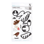 DoCrafts - Xcut - Decorative Dies - Large - Christmas In The Country Robin
